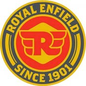 Royal Enfield<BR>Glasunderlägg
