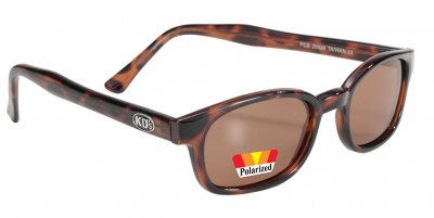 KD's - Dark Demi Frame/Amber Polarized