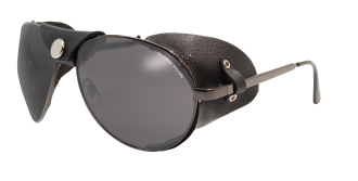 Aviator Gunmetall<BR>Smoke Lenses