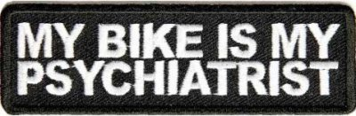 My Bike Is My Psychiatrist